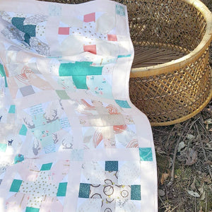'Babe In The Woods' Girl's Crib Quilt