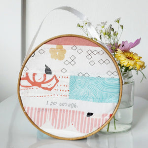 Soft Canvas Hoop Art (Small)