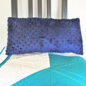 Moving Mountains Pillow (Navy Blue)