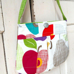 Mod Fruit Pleated Purse
