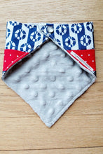 Load image into Gallery viewer, Bandanna Baby Bib (Buoy Nautical Patchwork)