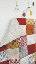 Load image into Gallery viewer, Modern Woodland Patchwork Toddler Quilt