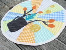 Load image into Gallery viewer, Modern Cup and Twig Applique Place Mat