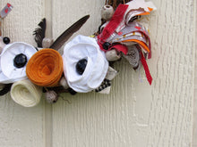 Load image into Gallery viewer, Bohemian Feather Autumn Wreath