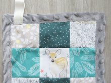 Load image into Gallery viewer, Patchwork Mini Lovey (Mint Fawn)