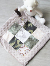 Load image into Gallery viewer, Patchwork Mini Lovey (Camo Stag)