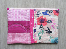 Load image into Gallery viewer, Star of the Tropics Quilted Zipper Pouch