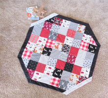 Load image into Gallery viewer, Quilted Baby Play Mat (The Huntsman)