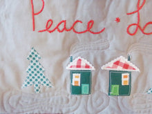 Load image into Gallery viewer, Christmas Village Art Quilt