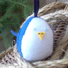 Load image into Gallery viewer, Tweet Bird Ornament (Blue Jay)