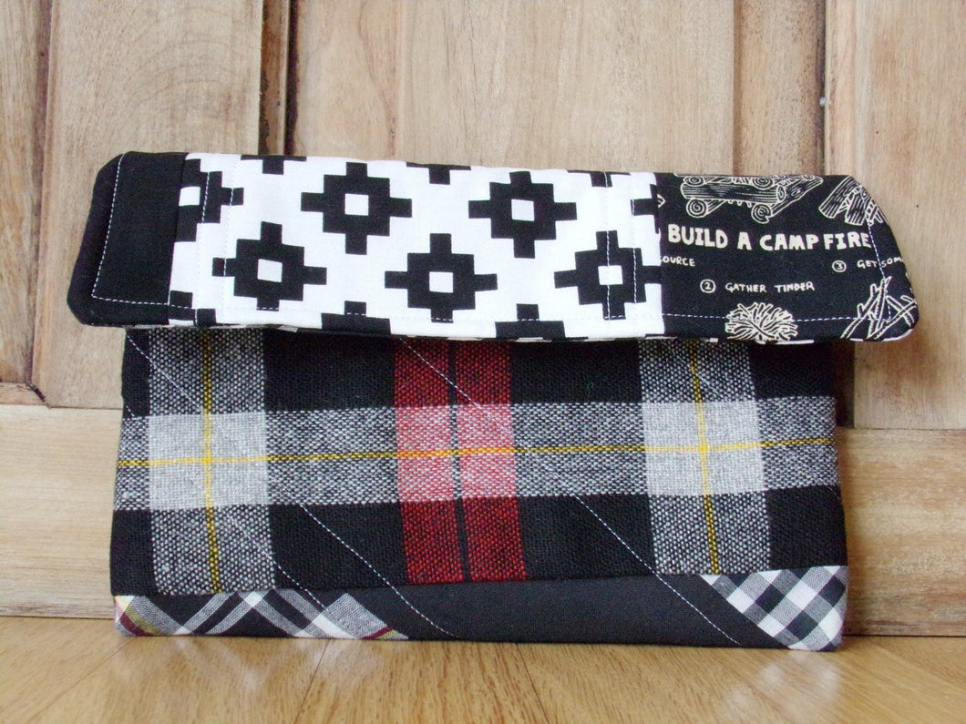 Campfire Pocket Clutch