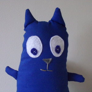 CAT Plush Doll, Cat Stuffed Toy, Cartoon Inspired Cat Doll