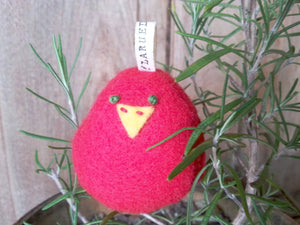 Tweet Bird Ornament (Cardinal)