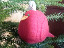 Load image into Gallery viewer, Tweet Bird Ornament (Cardinal)
