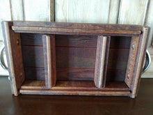 Load image into Gallery viewer, Rustic Wood Tabletop Tray
