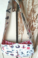 Load image into Gallery viewer, Little Sailor Pleated Purse