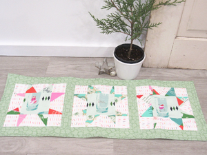 Holiday Spark Quilted Table Runner