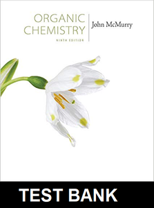 Test Bank for Organic Chemistry 9th Edition McMurry