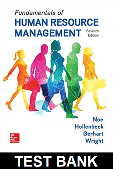 Test Bank for Fundamentals of Human Resource Management 7th Edition