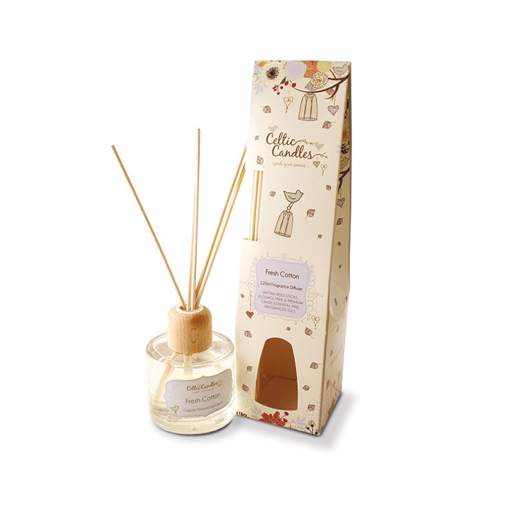 Celtic Candles Fragrance Diffuser- Fresh Cotton
