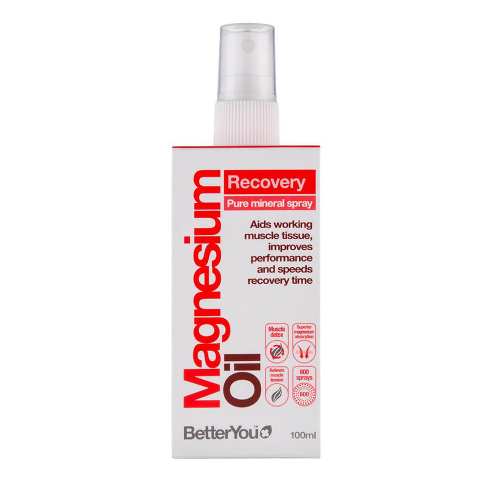 Better You Magnesium Oil Recovery Pure Mineral Spray