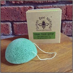 Queen Bee Konjac Facial Sponge Green Tea