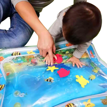 Load image into Gallery viewer, Kids water play mat Inflatable thick Sensory play