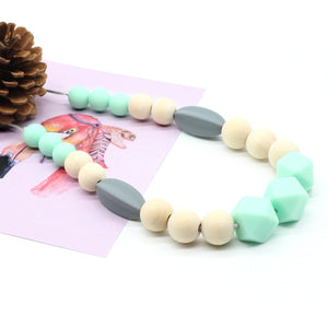 Food grade Soft beads necklace chewy