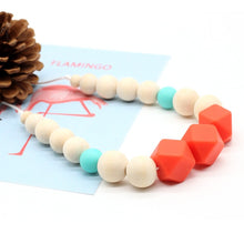 Load image into Gallery viewer, Food grade Soft beads necklace chewy