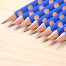 Load image into Gallery viewer, 12pcs Grip correction Triangle Wooden HB Pencil Set