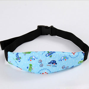 Adjustable Child Kids Safety Car Seat Travel Sleep Aid Head Strap Support