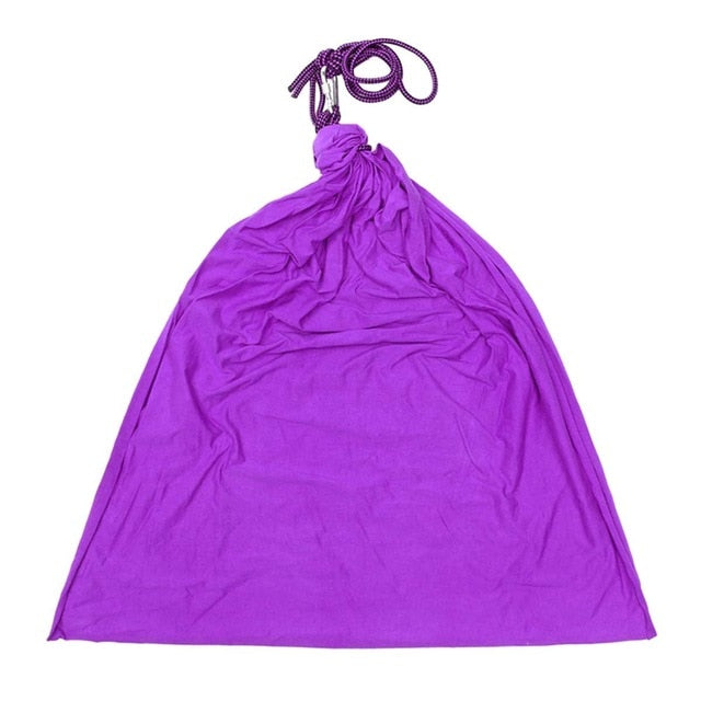 Green/Purple Therapy Swing Load Up To 175 LBS Autism Adhd Aspergers Sensory Cuddle Hammock Children Kids Toy Swing Home Outdoor