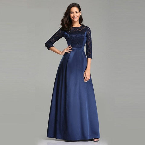 Robe De Soiree Navy Blue Long Evening Dress, New years eve party dresses 2020 - Eve party dress deals - New years eve dress 2020 - Party dress dealsfor29.com New year dress deals Party dress deals - Party Dress deals 2019 - dealsfor29.com