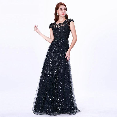 Prom Embroidery Long  Dress - www.dealsfor29.com