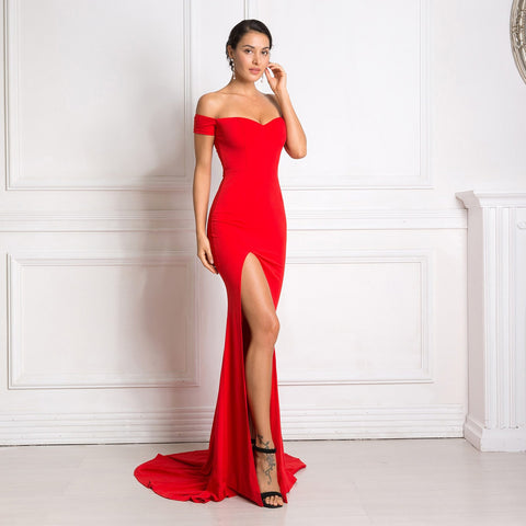 SEXY RED CLUB PARTY DRESS - RED COCKTAIL DRESS - SEXY RED DRESS - WWW.DEALSFOR29.COM - SUMMER RED DRESS - LONG SUMMER DRESS