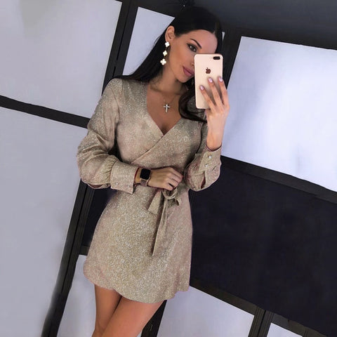 1_sexy mini dress - long sleeve - party dress - 2020 party dress - deals for 29 sale - mini party dress - night gown - dealsfor29.com