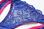 Lace push up casual bra Panty set