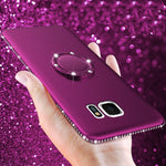 Samsung Galaxy S8 Diamond Soft Case Cover