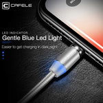 Micro USB LED Magnetic Braided Fast Charging Cable