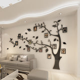 3D Acrylic Tree Photo Frame Wall Stickers