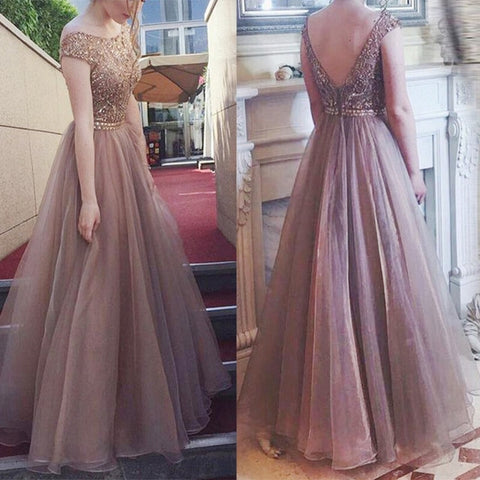Women long Evening Party Gown - Party Dress - Dress For New Year's Eve