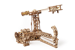 UGears Mechanical Model Aviator Plane Helicopter