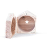 BABAI Wooden Money Box in Natural Finish