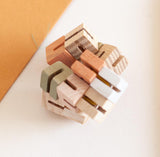 BABAI Wooden Fidget in Pastel Colors