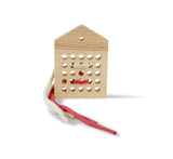 "BABAI Wooden Lacing Toy ""25"" in Natural Color for 3+"