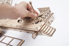 UGears Mechanical Wooden Model 3D Puzzle Kit Railway Platform