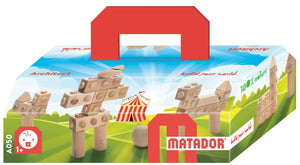 MATADOR Architect A050 22 pcs Wood Building Set 1+ age