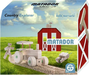 MATADOR Themeworld Country Explorer 42 pcs Wooden Construction Set 5+ age