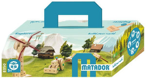 MATADOR Explorer E050 99 pcs Wood Building Set 5+ age