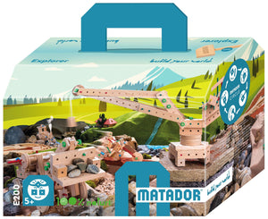 MATADOR Explorer E200 318 pcs Wood Building Set 5+ age